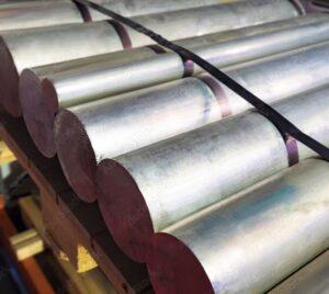 Non-ferrous metal cutting