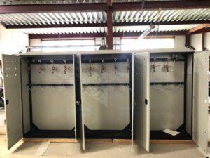 Argon discharge cabinet ramp